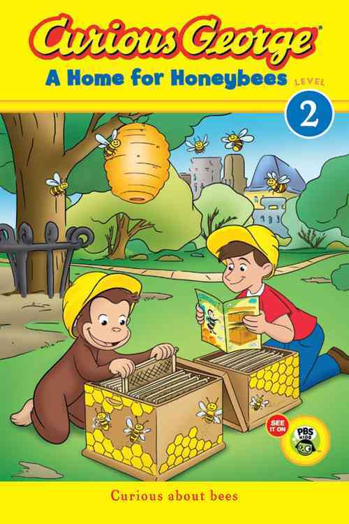 Curious George a Home for Honeybees By Rey, H. A.
